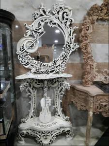 کنسول و آینه