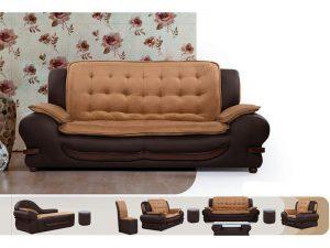 خرید مبل راحتی ارزان با کلاف چوب روس و ارسال رایگان تمام ست مدل ناتالی با کیفیت بسیار مطلوب