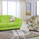 مبل راحتی جدید وبسیار شیک نرمین با رنگ پارچه دلخواه مشتری