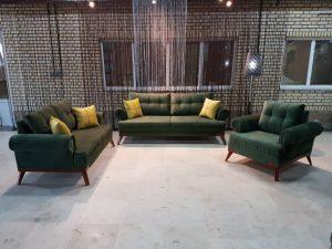 مدل مبل راحتی مدرن و لاکچری برای خانه های ایرانی مدل زرینه