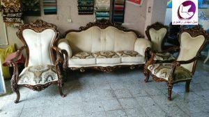 مبل کلاسیک ارزان ترکیه مدل آلپر