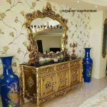 آینه کنسول دیواری سلطنتی