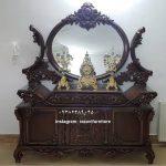آینه کنسول سلطنتی مدل جدید تولیدی رضوی با قیمت