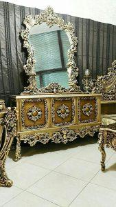 قیمت آینه کنسول سلطنتی کد ۰۲۷