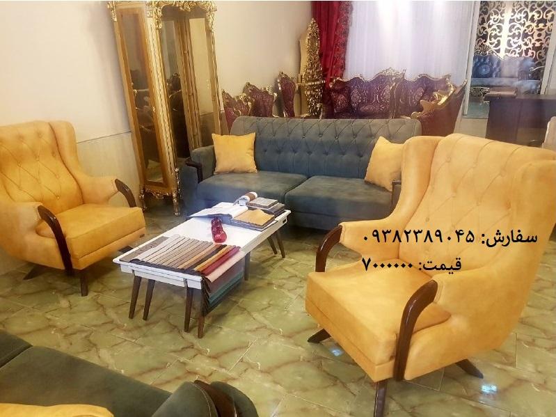 مبل چستر مدرن با قیمت تولید شده در تولیدی مبل در تبریز مشاوره 09382389045