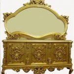 آینه کنسول چوبی سلطنتی