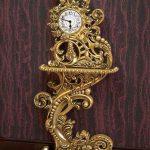 خرید آنلاین ساعت کنسول طلایی کد ۸۹ با قیمت تولیدی