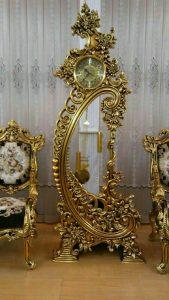ساعت ایستاده چوبی پاندول دار کد 92 لوکس