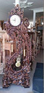 ساعت ایستاده چوبی با قیمت تولیدی مدل کرال