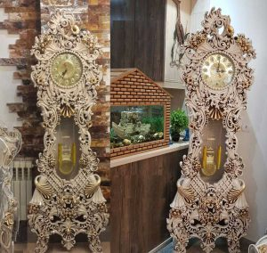 انواع ساعت ایستاده جدید پرمنبت سلطنتی کلاسیک کد 75