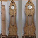 جدیدترین مدل ساعت ایستاده چوبی کلاسیک کد ۶۹