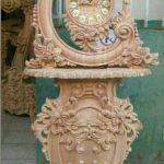ساعت کنسول چوبی جدید کد ۸۴ با قیمت