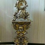 مدل ساعت کنسول چوبی سلطنتی مدل آلپ