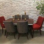 میز و صندلی ناهارخوری شش نفره کد ۰۴ با قیمت
