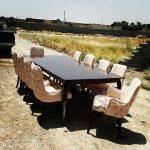 قیمت صندلی و میز غذاخوری اسپرت چستر کد ۰۶