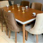 میز غذاخوری + ناهارخوری + نهارخوری فانتزی کد ۰۳