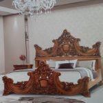 مدل سرویس خواب ترک ۲۰۱۷ چوبی سلطنتی لاله