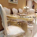 میز نهارخوری مبلمان استیل کلاسیک