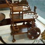 میز بار چرخ دار با جدیدترین طرح و دارای طبقات