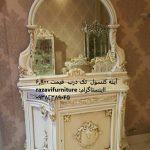 آینه و میز کنسول تک درب با قیمت