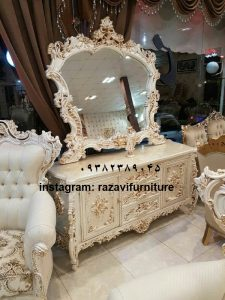 میز کنسول تک درب لوکس اسپرت با قیمت ارزان تولیدی آینه کنسول رضوی در تبریز