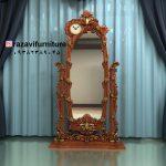 آینه قدی چوبی پایه متحرک