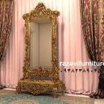 آینه قدی چوبی با قیمت