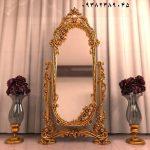 آینه قدی چوبی متحرک کد ۰۱ – تولیدی مبل رضوی تبریز
