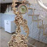 ساعت ایستاده چوبی با قیمت