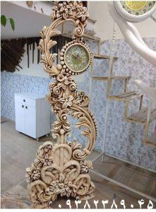ساعت ایستاده چوبی تولیدی رضوی