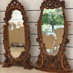 آینه کنسول چوبی تولیدی رضوی