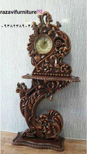 ساعت ایستاده چوبی مدل عروس