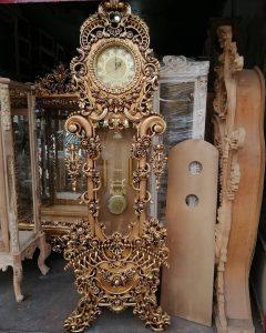 ساعت چوبی ایستاده کد 42 در سال جدید