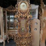 ساعت ایستاده چوبی کد ۴۲ تولیدی رضوی