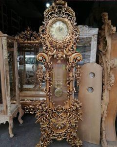 مدل ساعت ایستاده چوبی کد ۴۲