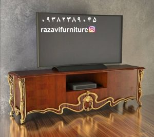قیمت میز تلویزیون چوبی لوکس