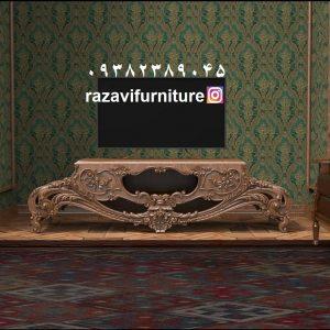 قیمت میز تلویزیون جدید و شیک کلاسیک