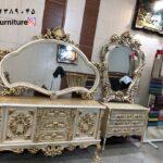 آینه کنسول چوبی سال ۹۹