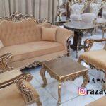 مبلمان استیل ارزان قیمت تولیدی رضوی تبریز