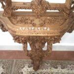 آینه کنسول دیواری تک پایه شهرزاد