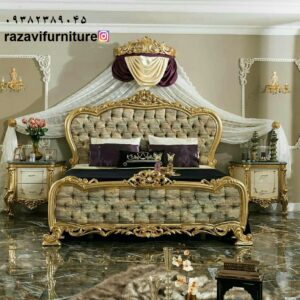 سرویس خواب جهیزیه مدل چراغان مخصوص دکوراسیون عروس