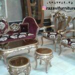 مبل سلطنتی پرفروش مدل رومیا – تولیدی رضوی تبریز