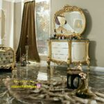 قیمت آینه میز کنسول شیک