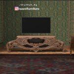 میز تلویزیون سلطنتی مدل یگانه- تولیدی رضوی تبریز