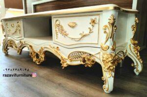 میز تلویزیون سلطنتی مدل لاله جدید