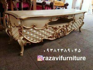 میز تلویزیون سلطنتی مدل لاله با قیمت