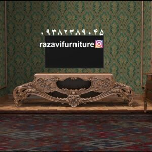میز تلویزیون شیک مدل لاله با قیمت