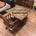 میز شطرنج چوبی با قیمت