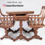 میز و صندلی شطرنج و تخته نرد- تولیدی رضوی تبریز