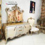 آینه کنسول سلطنتی مدل رز